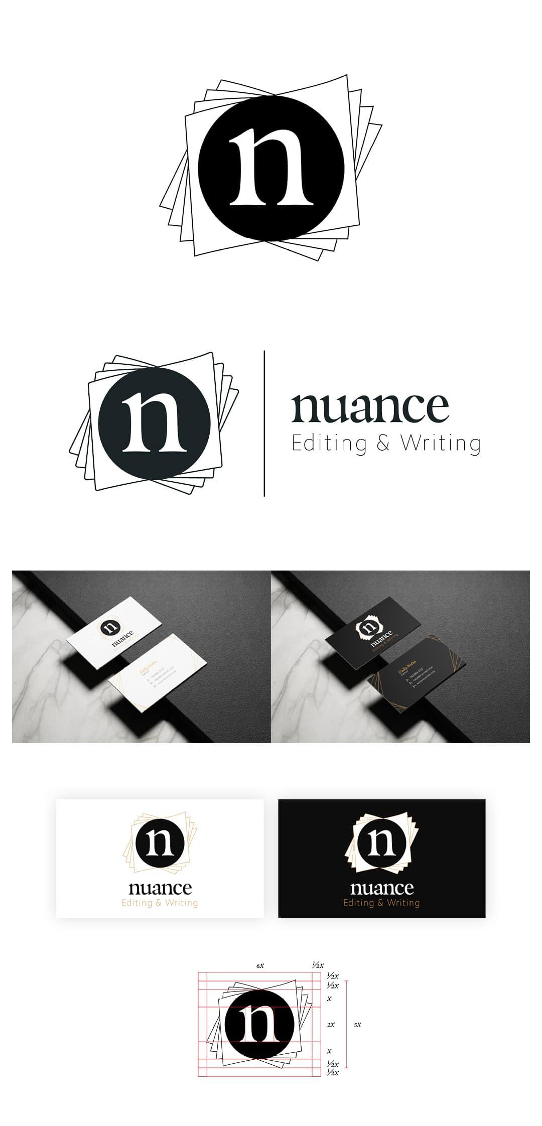 Nuance Logo and Brand Design