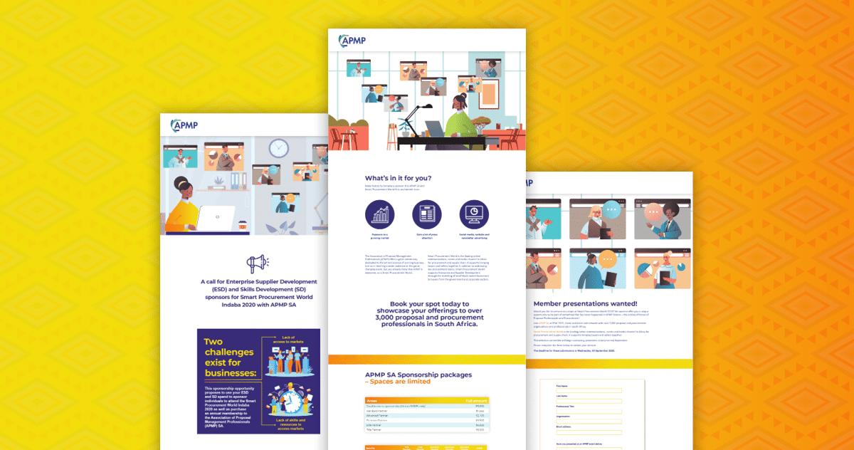 APMP Website Design