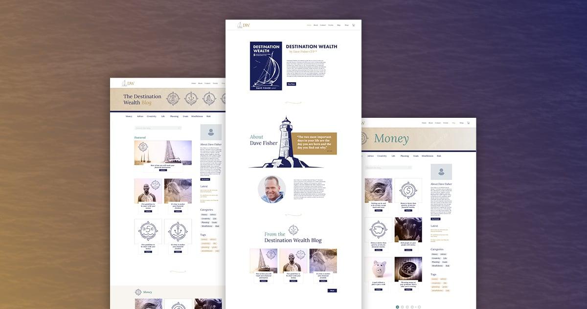 Destination Wealth Website