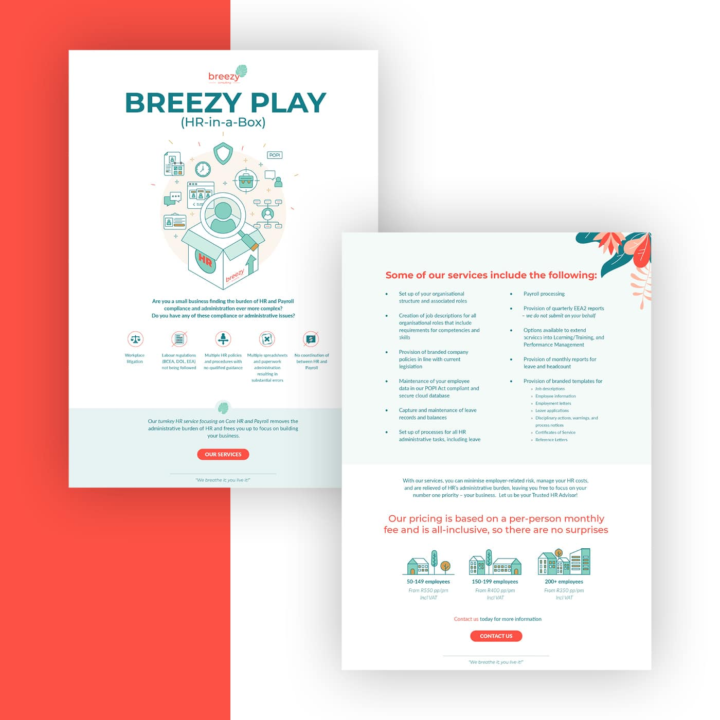 Breezy Consulting Brochure