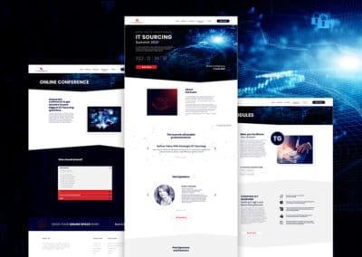 IT Sourcing Summit 2021 Website Design